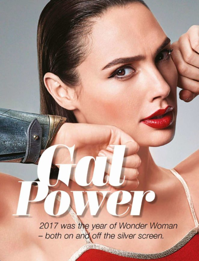 Gal Gadot - Cleo Singapore Magazine (December 2017)