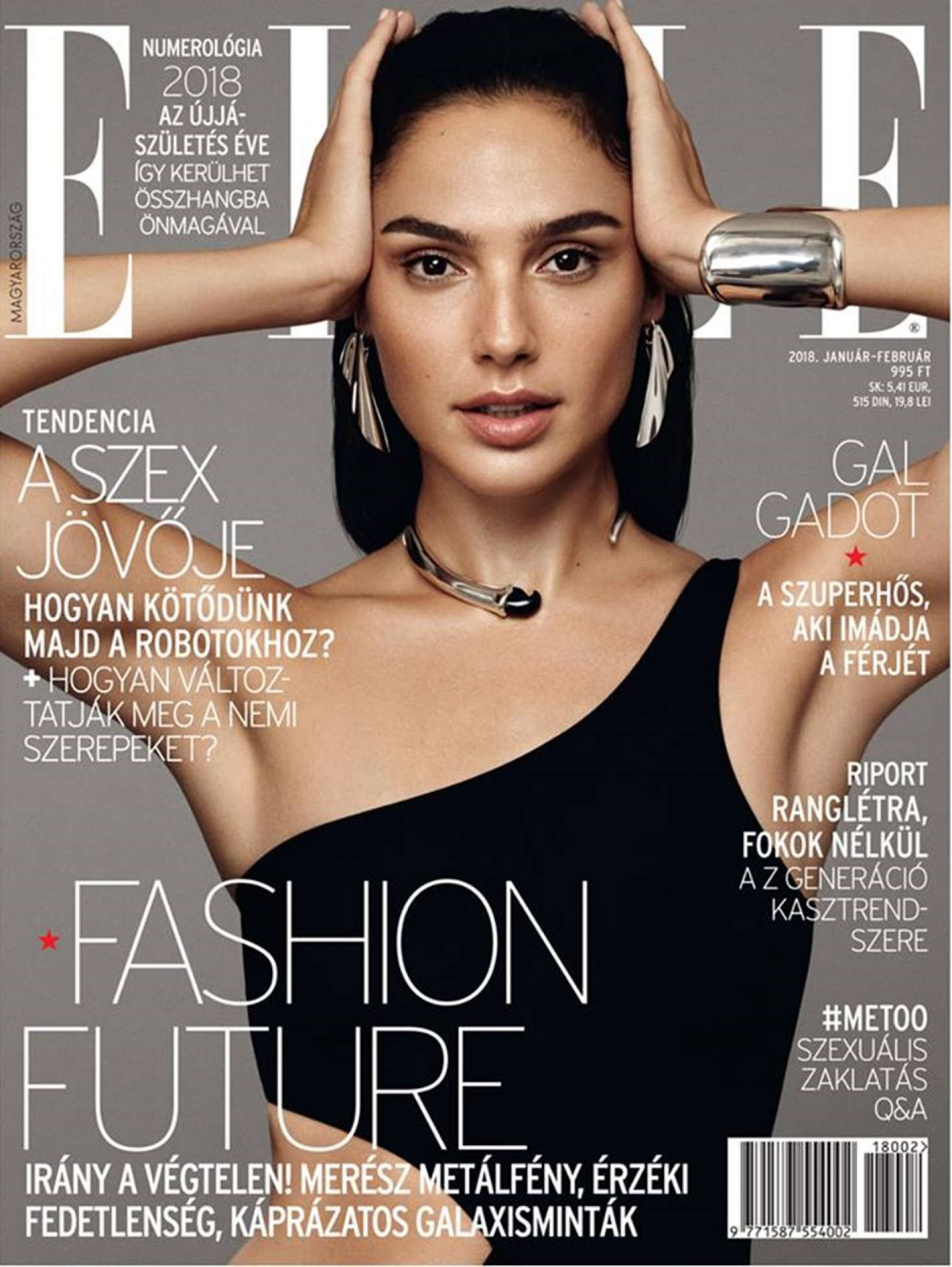 Elle Magazine France February March: Elle Hungary Cover (January-February 2018