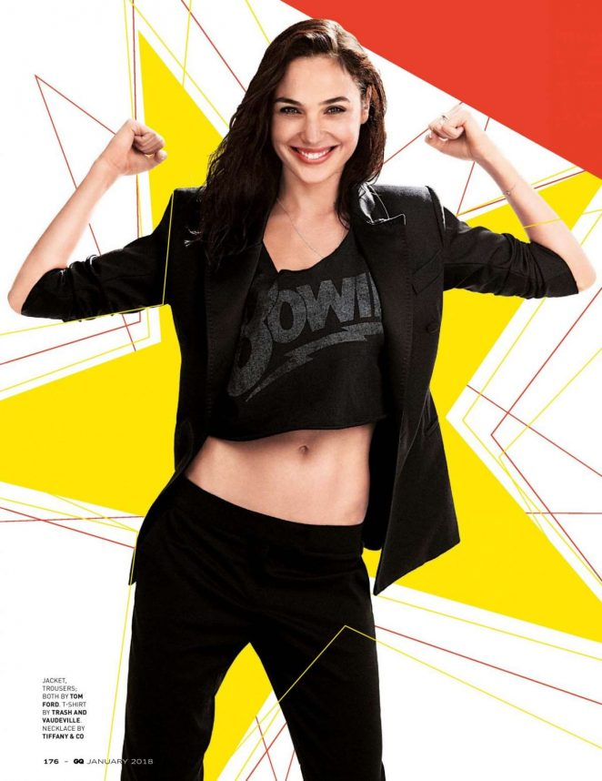 Gal Gadot – GQ India Magazine (January 2018)
