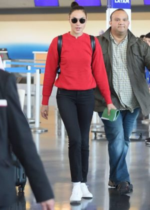 Gal Gadot - JFK Airport in New York