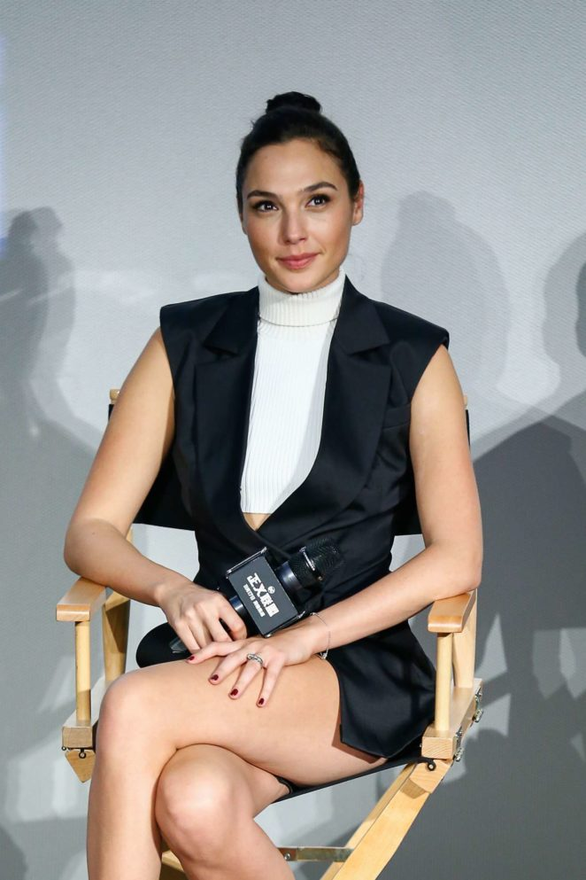 Gal Gadot - 'Justice League' fans meeting in Beijing