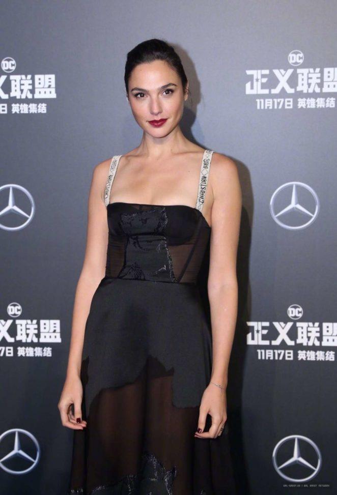Gal Gadot - 'Justice League' Premiere in Beijing