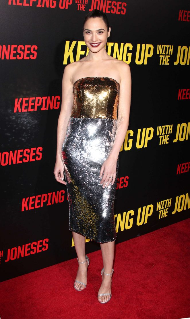 Gal Gadot - 'Keeping Up with the Joneses' Premiere in Los Angeles