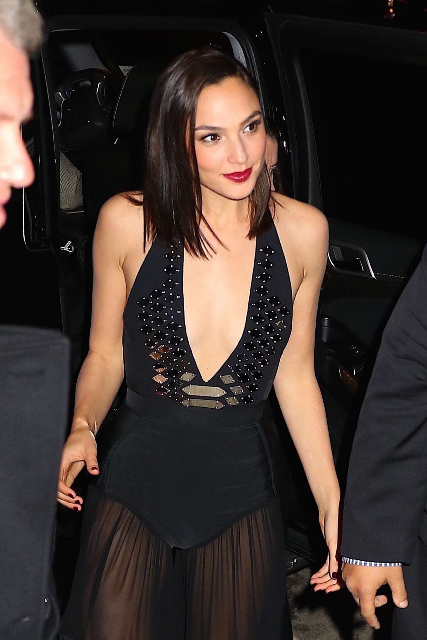 Gal Gadot - Leaving her hotel and arriving to an event in NY