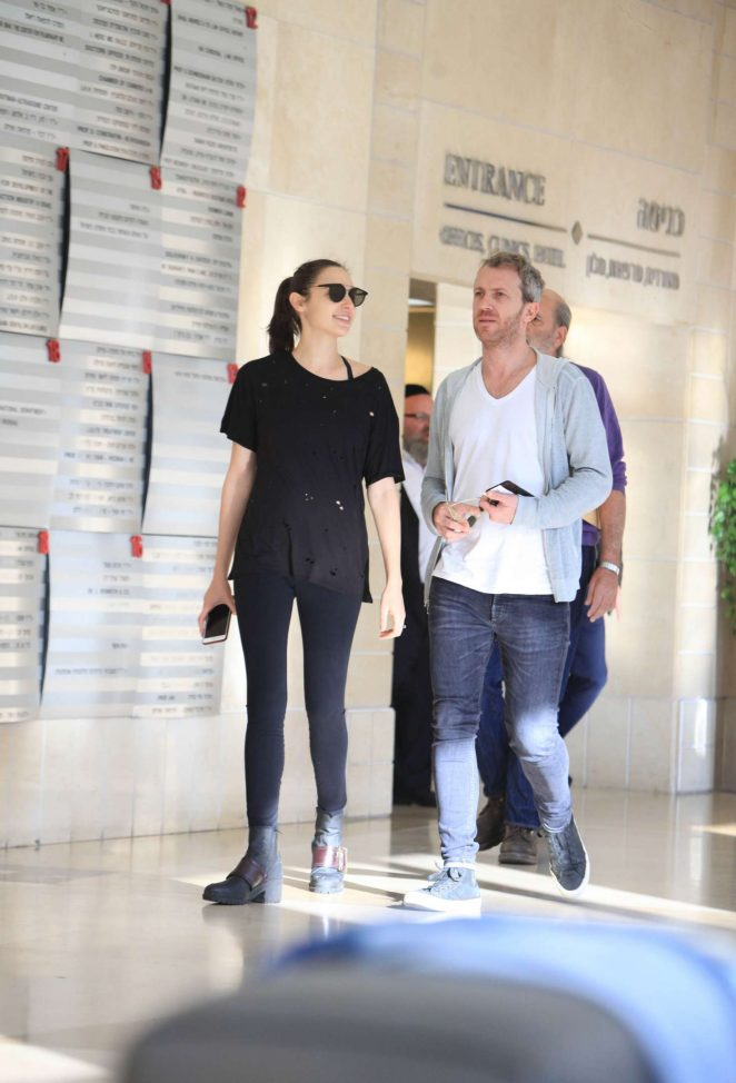 Gal Gadot out in Israel
