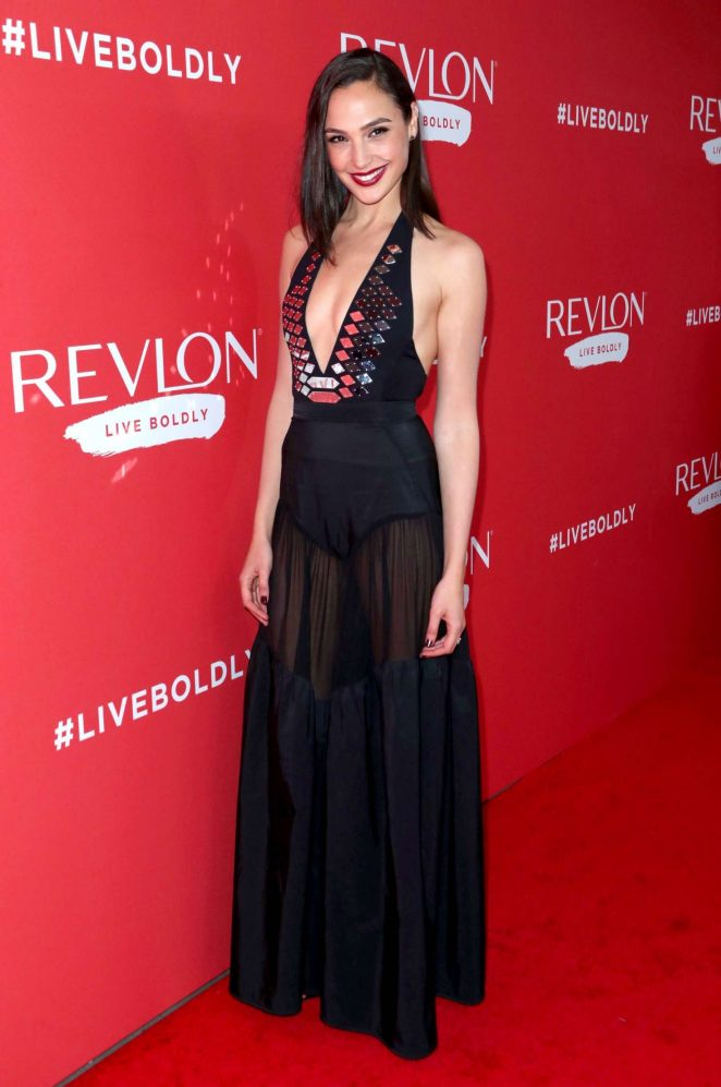 Gal Gadot - Revlon's 'Live Boldly' Campaign Launch in New York
