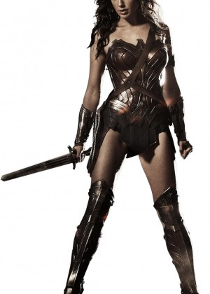 Gal Gadot - 'Superman vs Batman' 'Wonder Woman' 'Justice League' Promopics and Posters