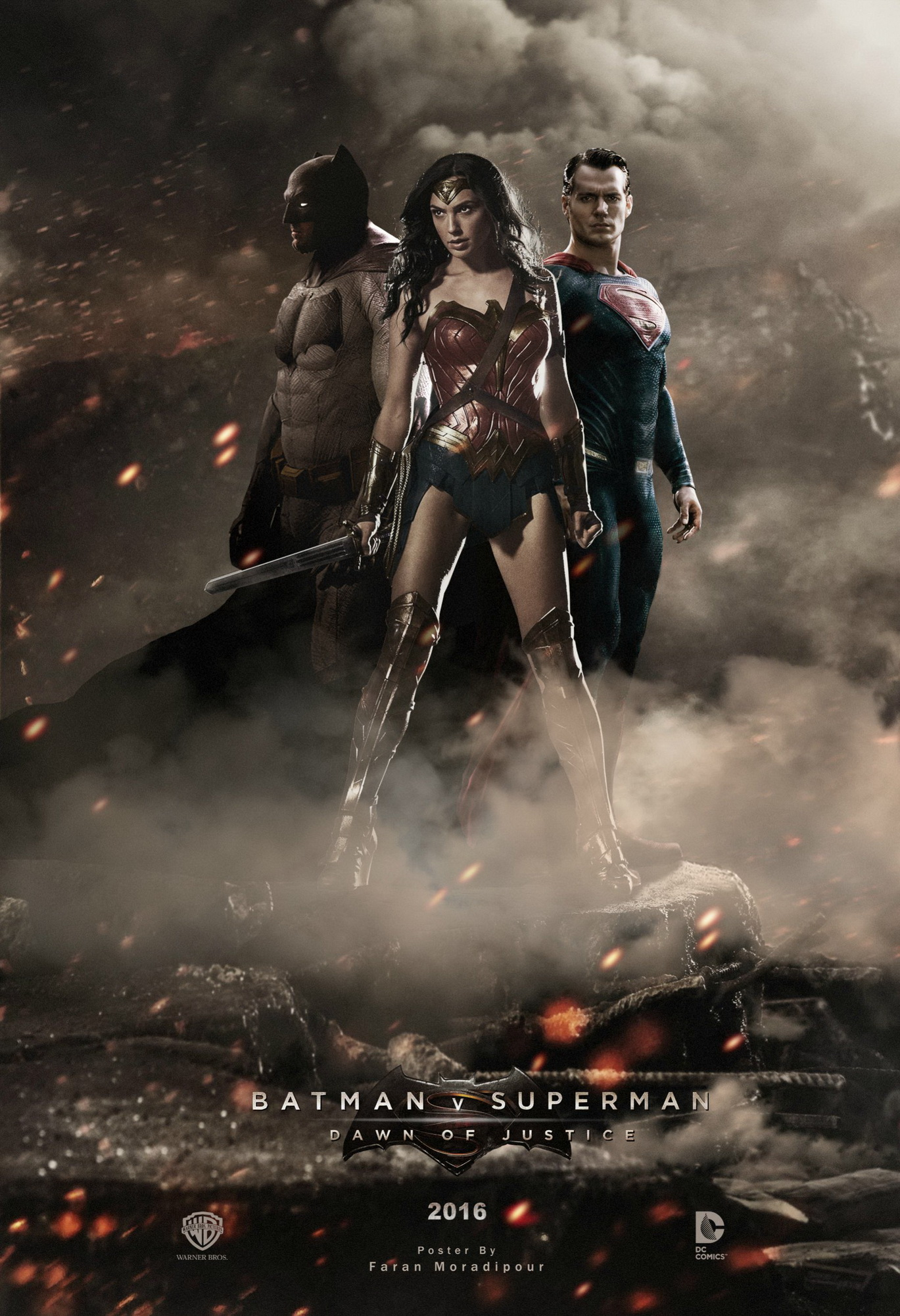 Gal Gadot Superman Vs Batman Wonder Woman Justice League Promopics And Posters 32
