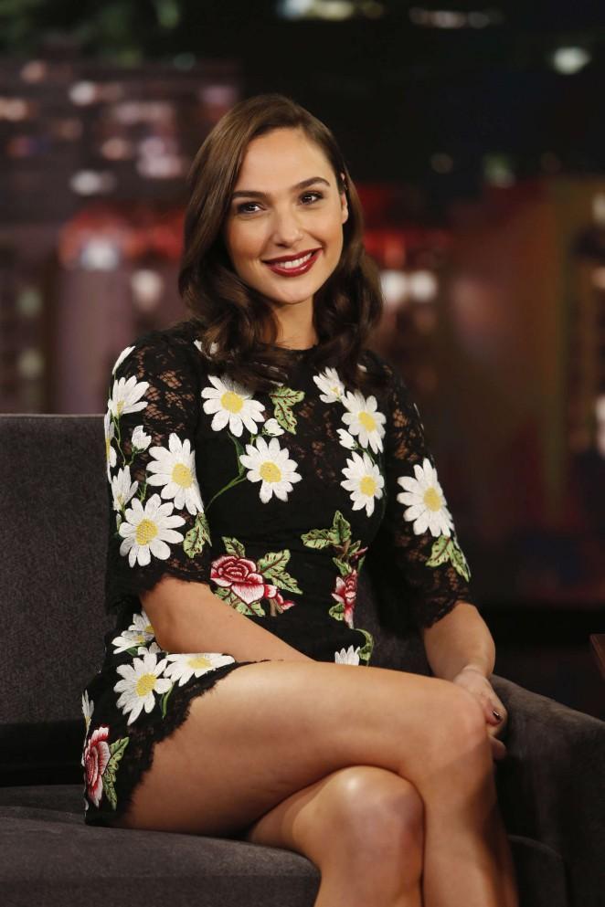 Gal Gadot – Visits 'Jimmy Kimmel Live!' in Hollywood