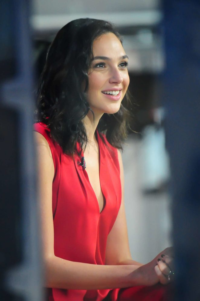 Gal Gadot - Visits the 'Today' show in New York City