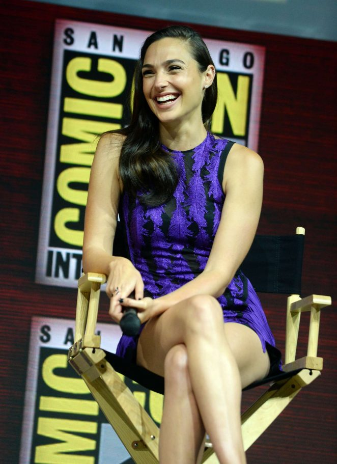 Gal Gadot -Warner Bros Panel day 3 at 2018 ComicCon in San Diego