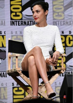 Gal Gadot - Warner Bros. Pictures Panel at 2017 Comic-Con in San Diego
