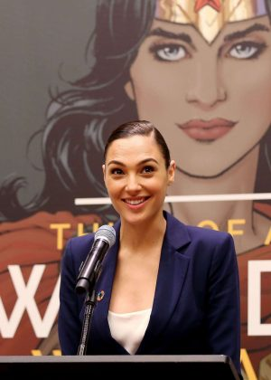 Gal Gadot - Wonder Woman United Nations Ambassador Ceremony in NYC