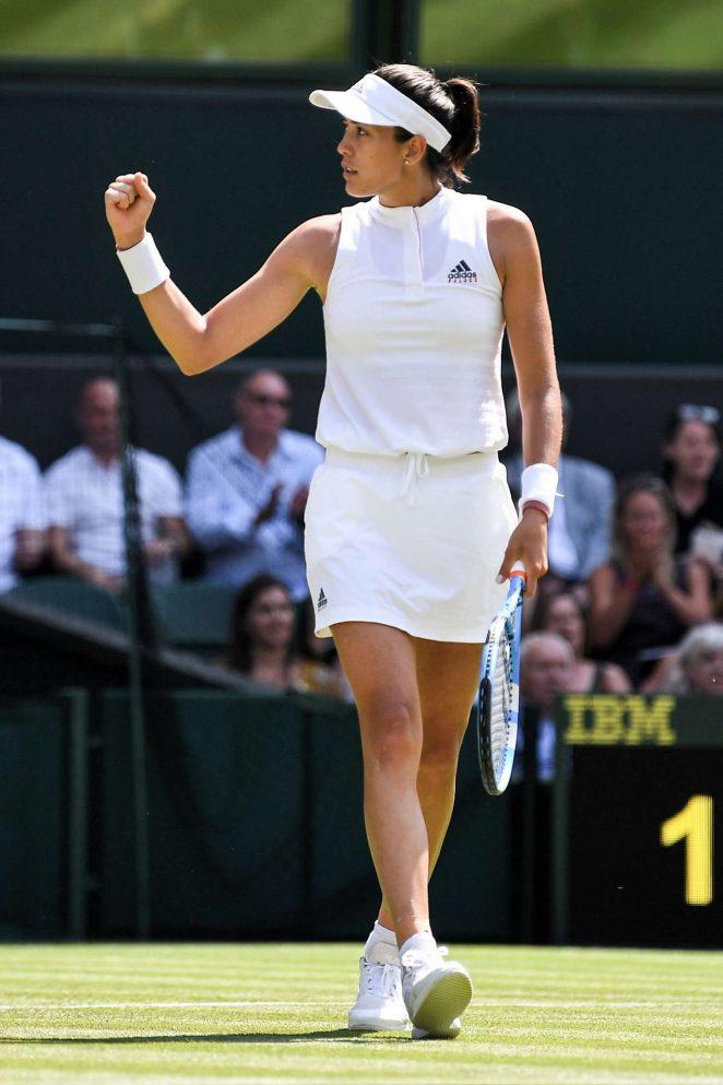 Garbine Muguruza – 2018 Wimbledon Tennis Championships in London Day 2