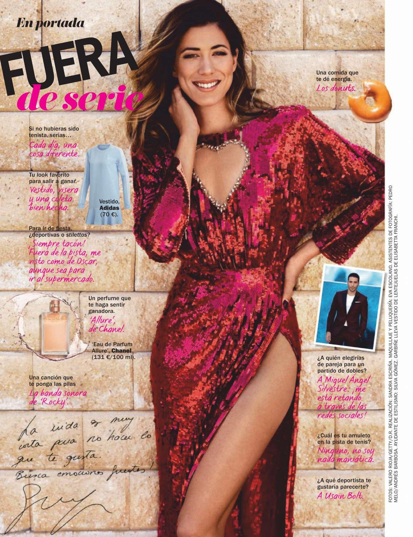 Garbine Muguruza - Cosmopolitan Espana Magazine (June 2019)