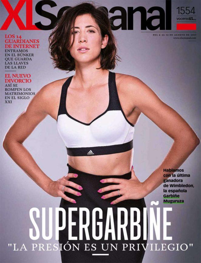 Garbine Muguruza in XL Semanal (August 2017)