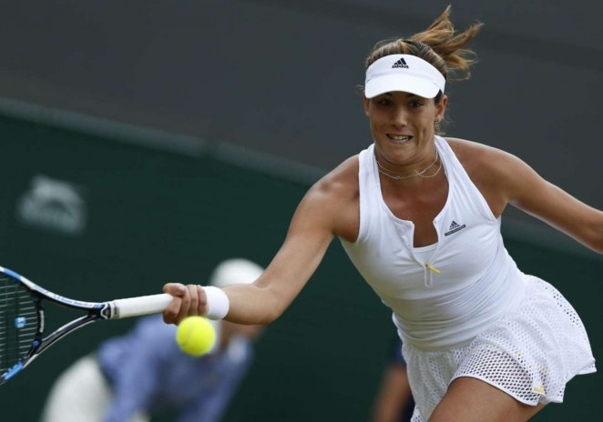 Garbine Muguruza: Wimbledon 2015 – Quarter Final -01