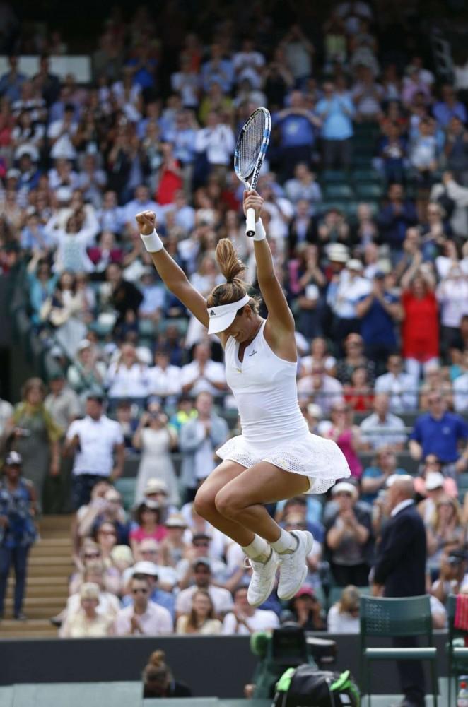 Garbine Muguruza: Wimbledon 2015 – Quarter Final -08