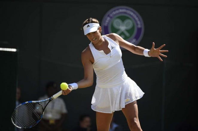 Garbine Muguruza: Wimbledon 2015 – Quarter Final -09