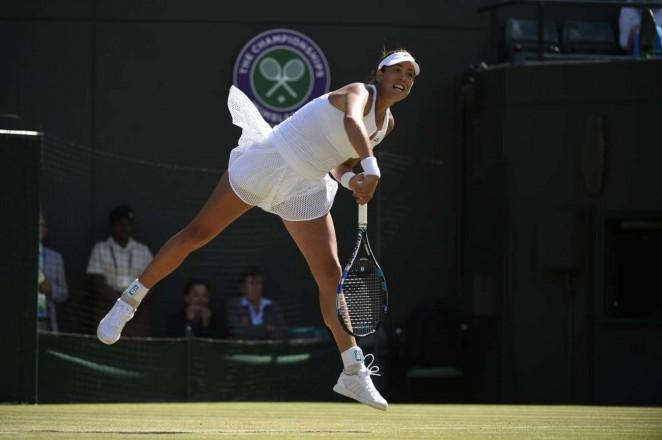 Garbine Muguruza: Wimbledon 2015 – Quarter Final -10
