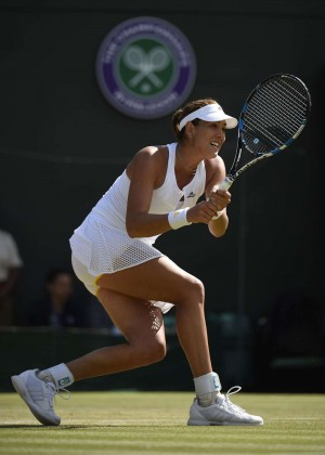 Garbine Muguruza - Wimbledon Lawn Tennis Championships 2015 in London - Quarter Final