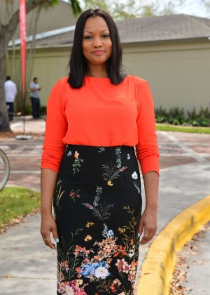 Garcelle Beauvais - Campaigns for Hillary Clinton in Miami