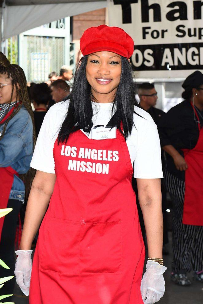 Garcelle Beauvais - Los Angeles Mission Easter Celebration in LA