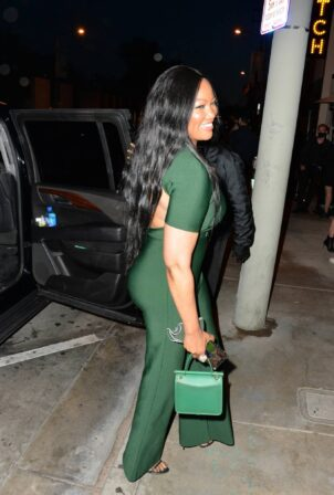 Garcelle Beauvais - outside Catch LA in West Hollywood