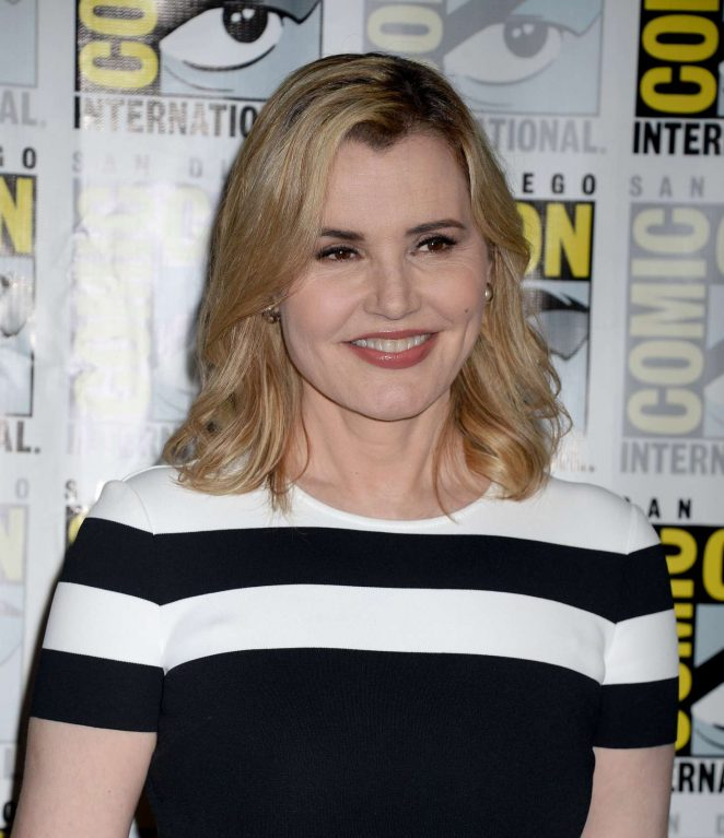 Geena Davis - 'The Exorcist' Press Line at Comic-Con International in San Diego