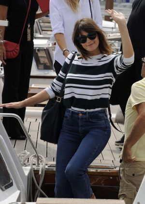 Gemma Arterton - Arriving for the Venice Film Festival in Venice