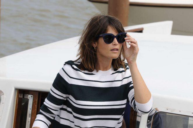 Gemma Arterton: Arriving for the Venice Film Festival -08