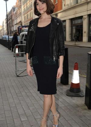 Gemma Arterton at BBC Radio 1 studios in London