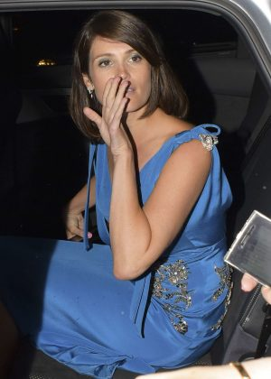 Gemma Arterton at Chiltern Firehouse in London