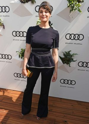 Gemma Arterton - Audi Polo Challenge - Day Two in Ascot