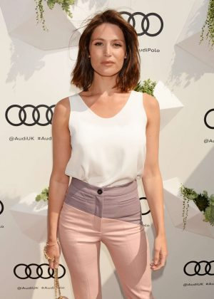 Gemma Arterton - Audi Polo Challenge Day Two in London