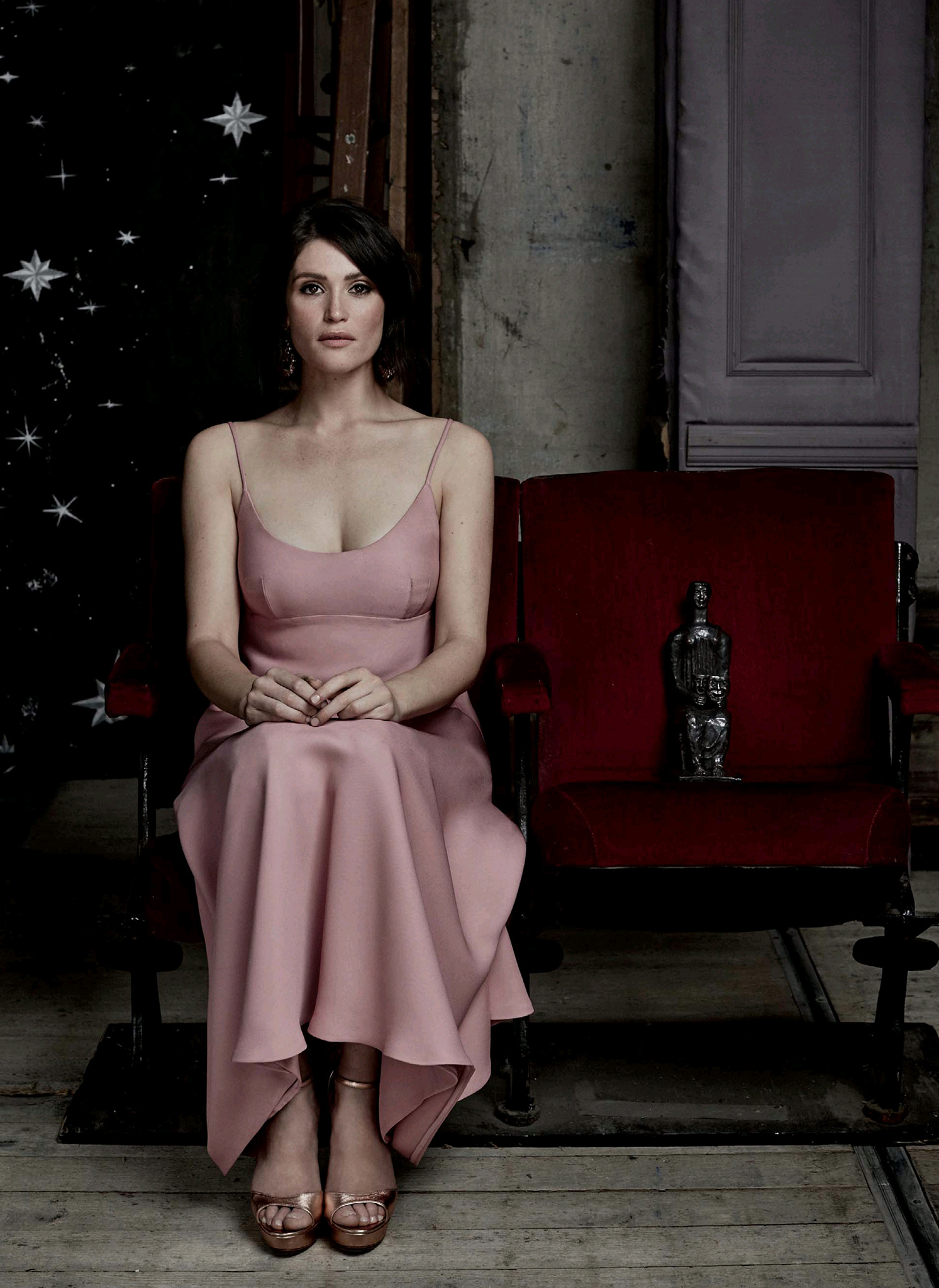 Gemma Arterton By Alex Bramall Photoshoot For Evening