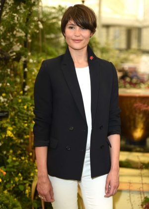 Gemma Arterton - Chelsea Flower Show in London