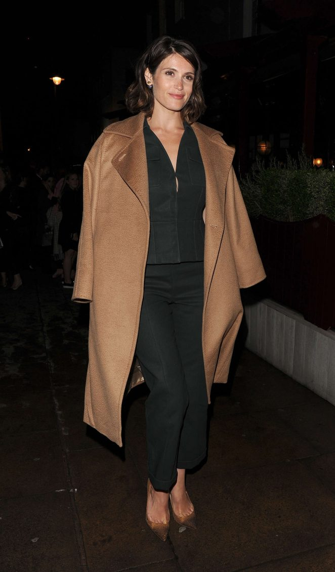 Gemma Arterton - Christian Dior Cruise Afterparty in London