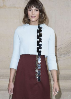 Gemma Arterton - Christian Dior Show SS 2017 in Paris
