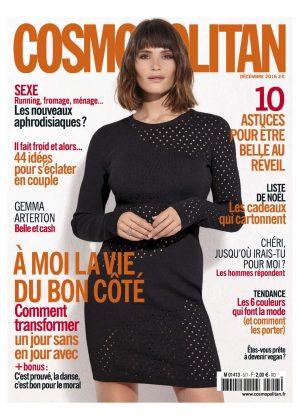 Gemma Arterton - Cosmopolitan Magazine (December 2016)