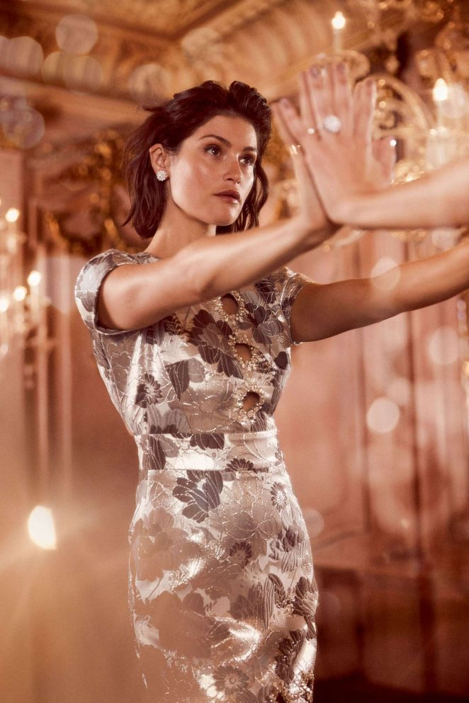 Gemma Arterton for Harper's Bazaar UK Magazine (December 2018)