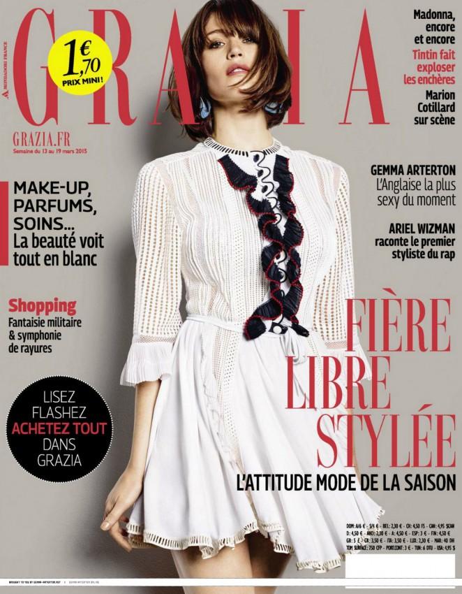 Gemma Arterton - Grazia France Magazine (March 2015)