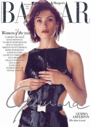 Gemma Arterton - Harper's Bazaar UK Magazine (December 2018)