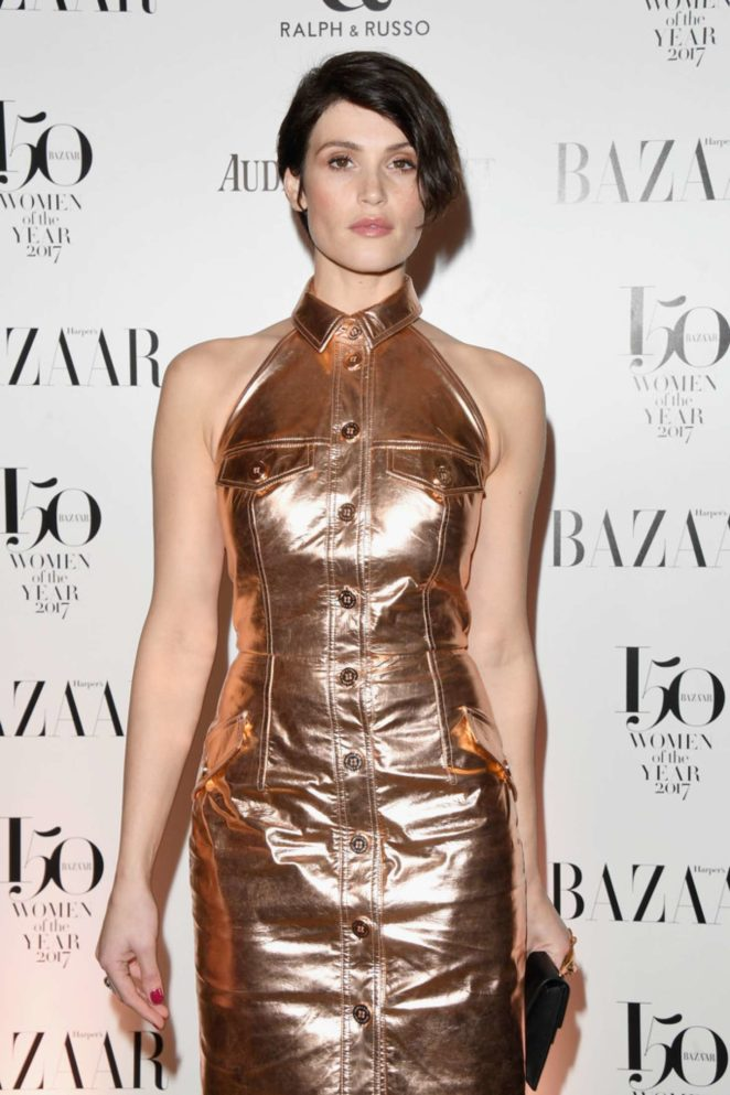 Gemma Arterton – Harper's Bazaar Women of the Year Awards 2017 in London