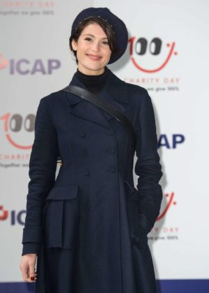 Gemma Arterton - ICAP Charity Day in London