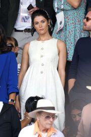 Gemma Arterton - Men's Final Day at the Wimbledon 2019 Tennis Championships in London