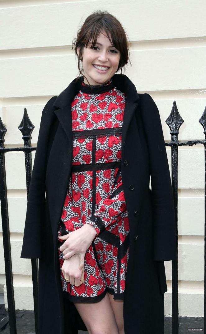 Gemma Arterton - Olivier Awards Nominees Lunch in London