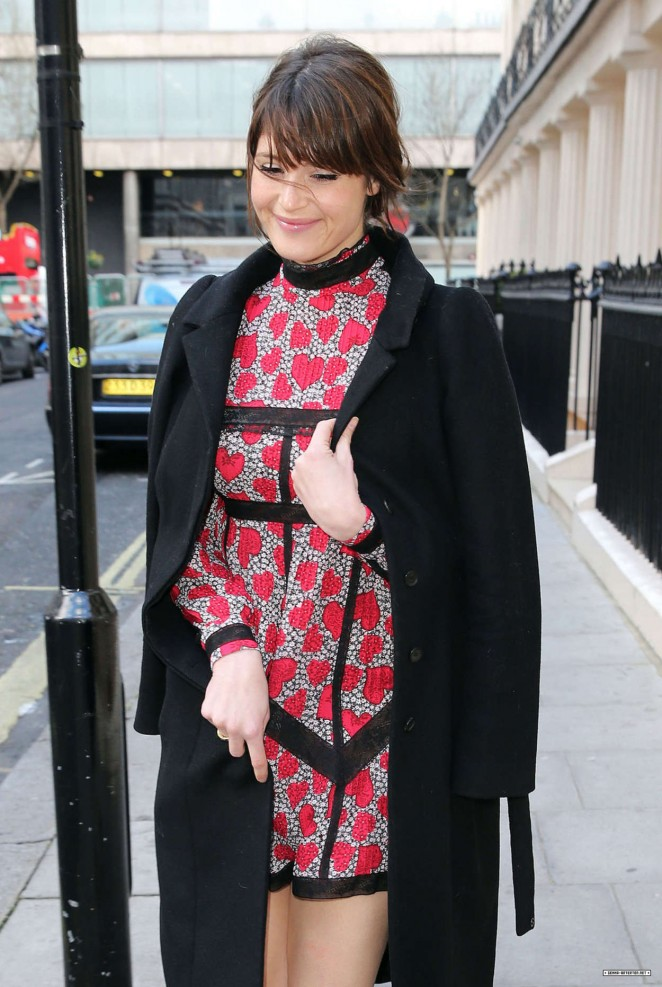 Gemma Arterton: Olivier Awards Nominees Lunch -17