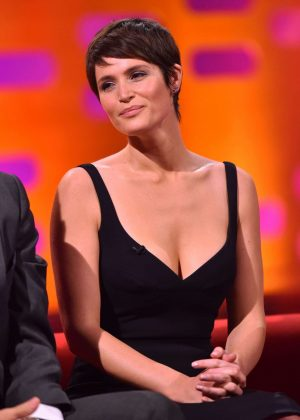 Gemma Arterton on the 'Graham Norton Show' in London