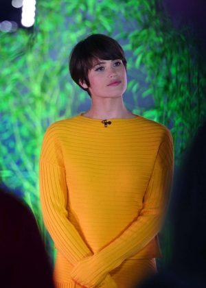 Gemma Arterton on 'The One Show' in London